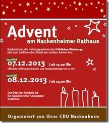 Weihnachtsmarkt Nackenheim