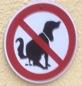 Hundeschissschild