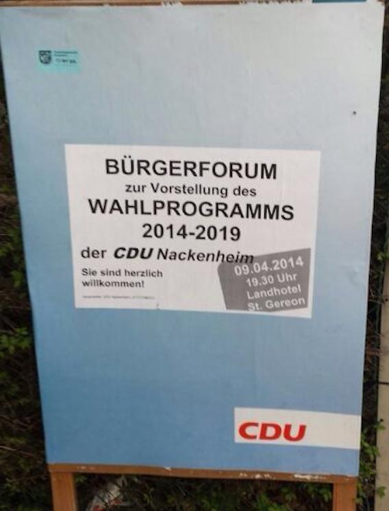 CDU Plakat 4
