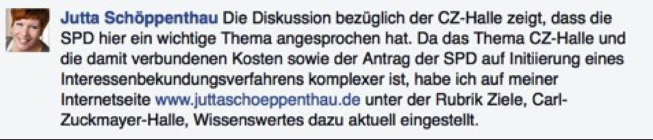 CZH FB Jutta Schoeppenthau 1