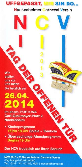 NCV 2013 Flyer