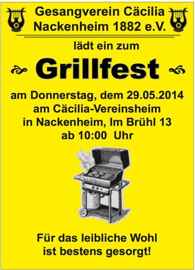 Grillfest mai
