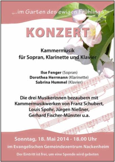 Konzert Mai 2014
