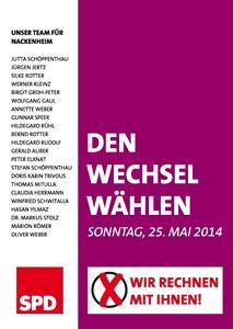 SPD Den Wechsel wählen