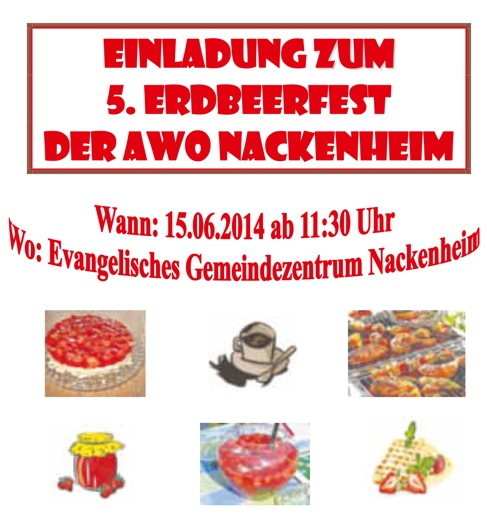 AWO Erdbeerfest 2014