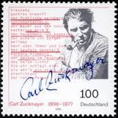 Briefmarke Zuckmayer Carl