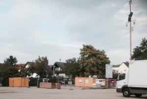 Bahnverlängerung 2014 Festplatz