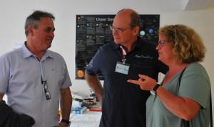 Peter Koch mit Bürgermeistern