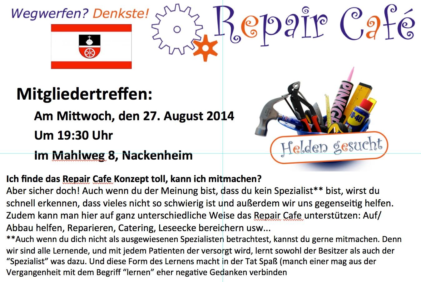 RCN Treffen 27.8