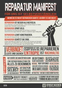 Reparatur Manifest Deutsch