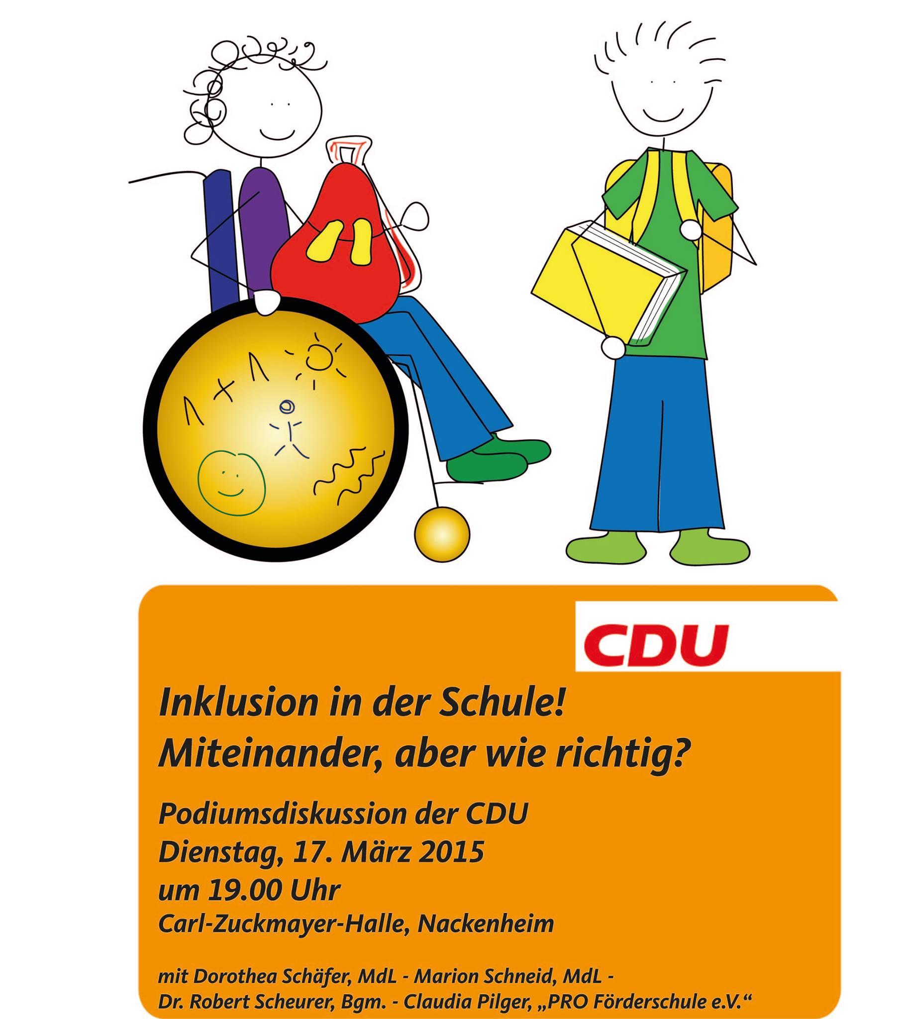 CDU Inklusion 2015