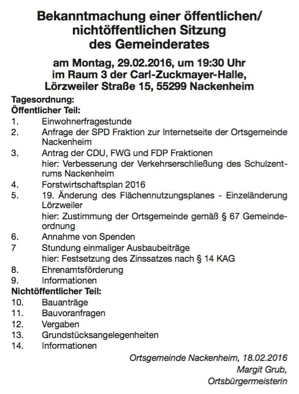Gemeinderat Nackenheim 2016 02